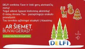 DELFI dovana tau - orakulo pranayst