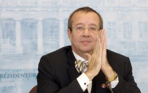 Picture: Hendrik Ilves: crisis primarily affected those outside the Eurozone