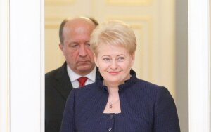 Picture: D. Grybauskaitė has already written off Conservatives' government?