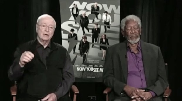 Michael Caine, Morgan Freeman